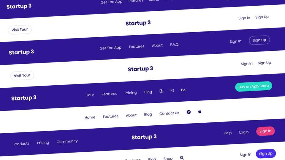 Bootstrap Navbar Guide and Free Navigation Examples