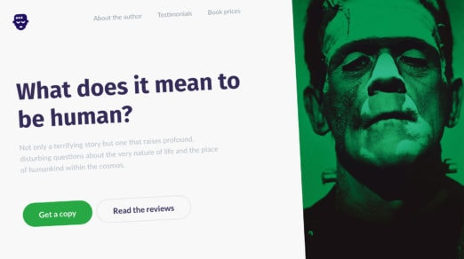 Creating a Custom Bootstrap Landing Page with Startup