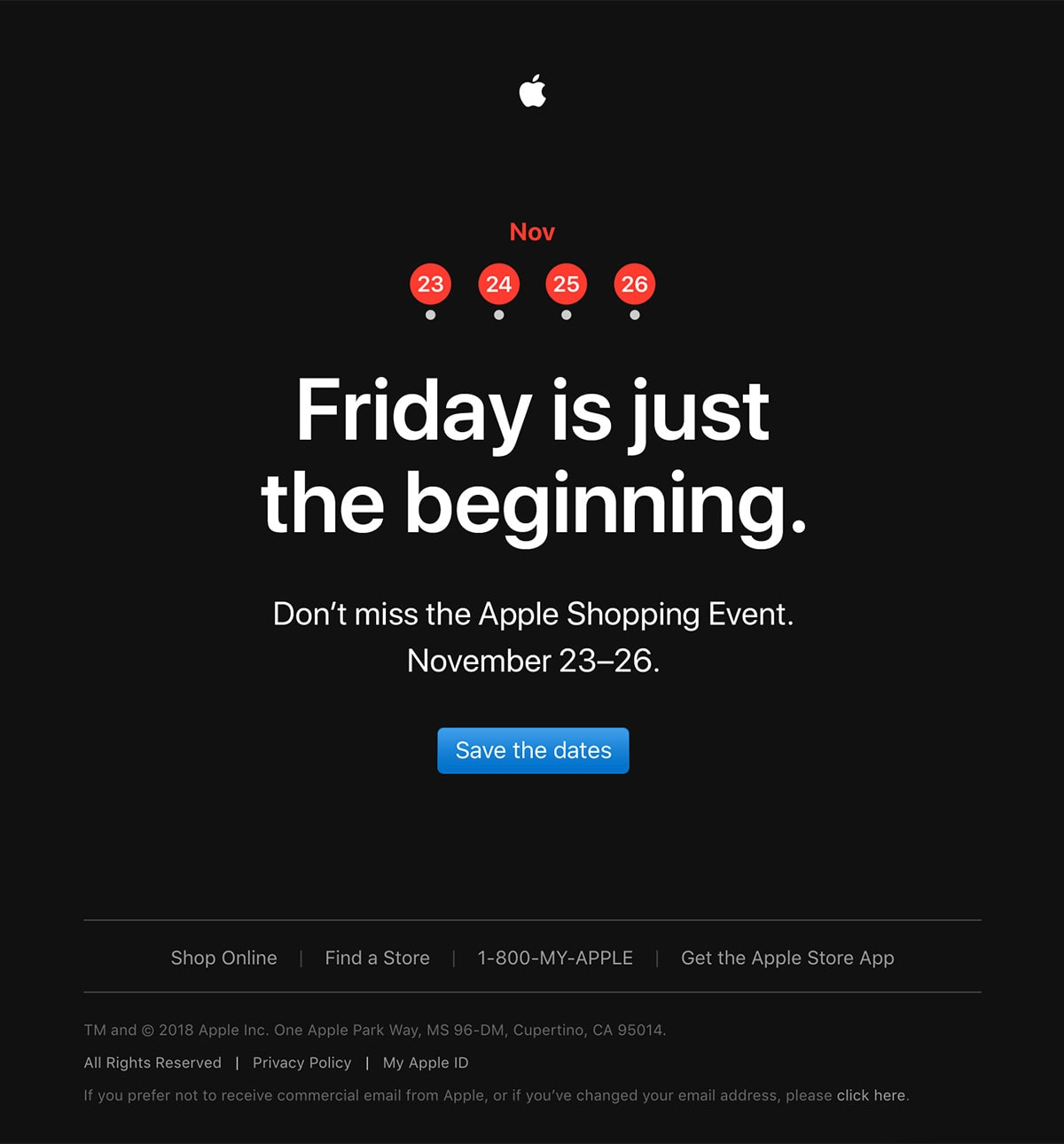The Apple Shopping Event is almost here