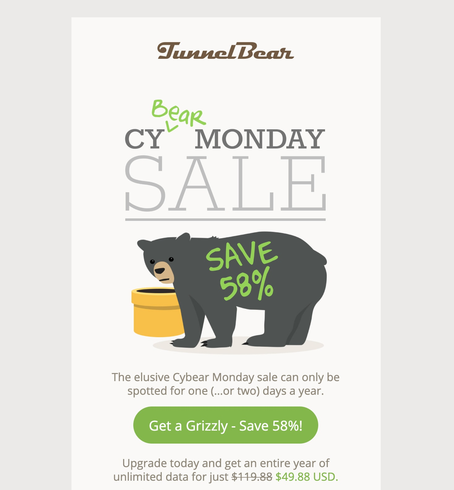 TunnelBear Email
