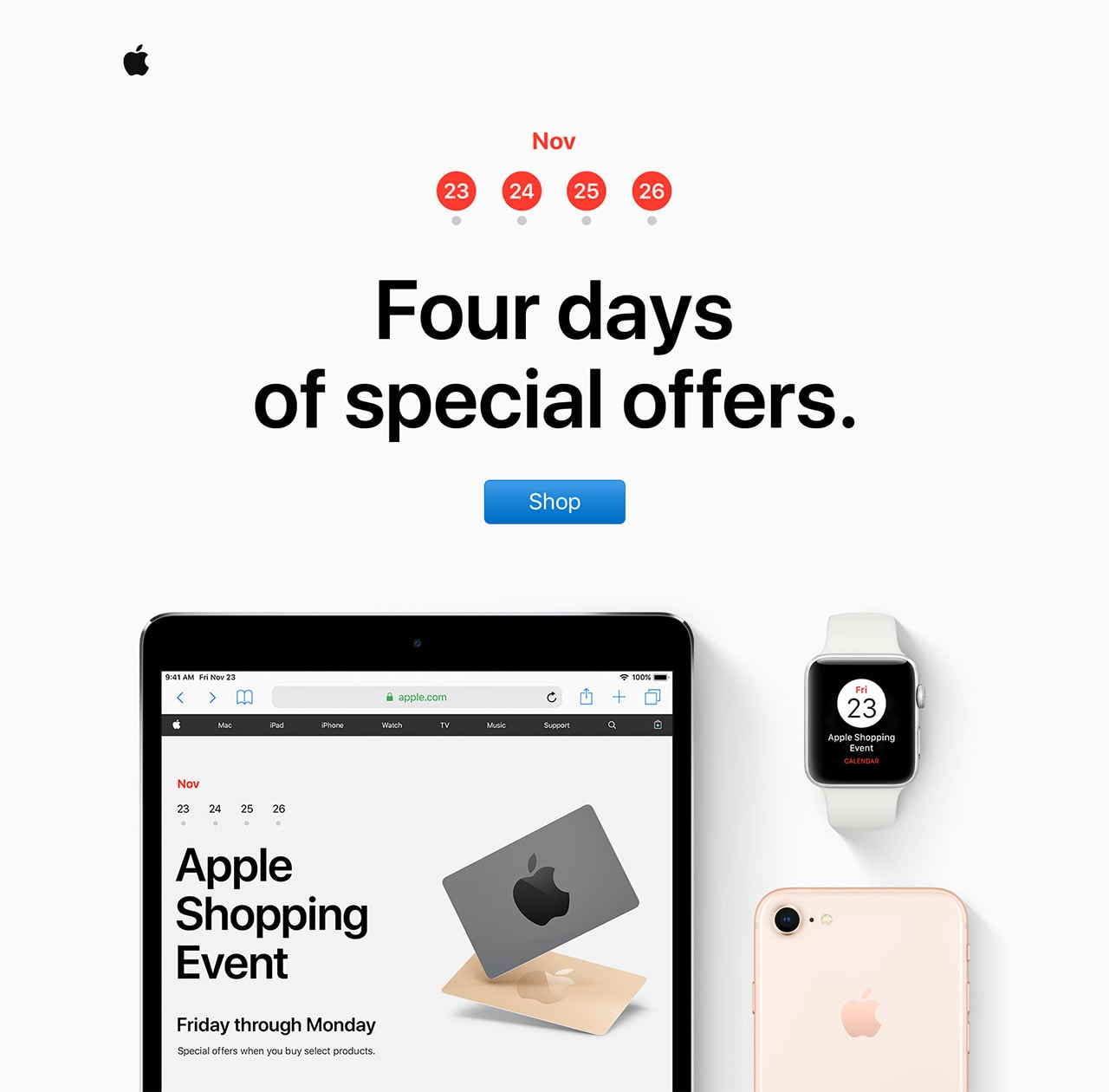 Time to Send Email Newsletters for Black Friday