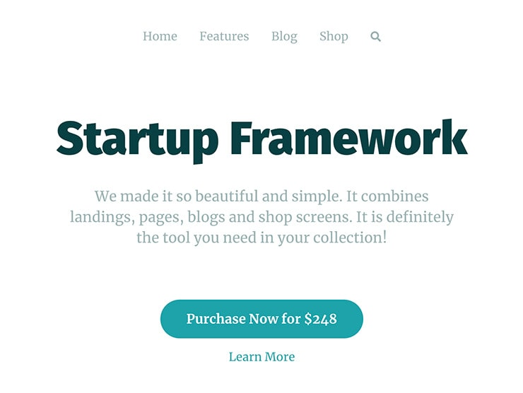eCommerce and Shop Bootstrap Template