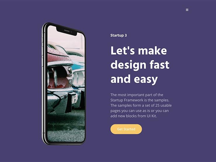 Online App Promo Page