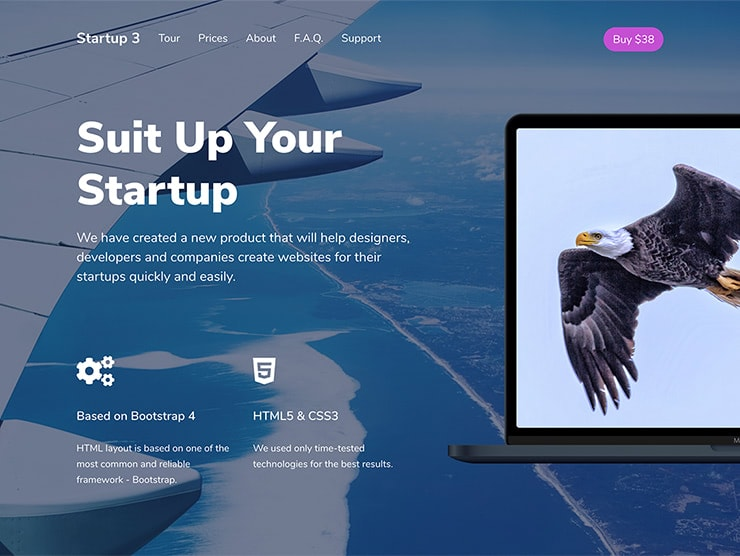 Services Landing Page