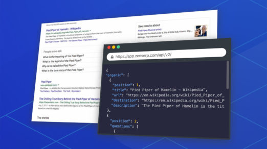 How to Scrape the Google Search Results with ZenSERP API