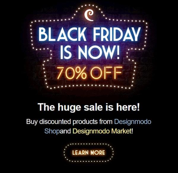 Black Friday by Designmodo