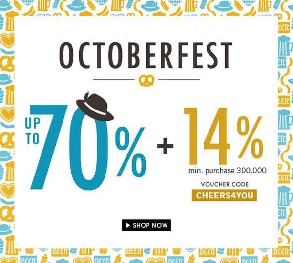 Octoberfest email newsletter