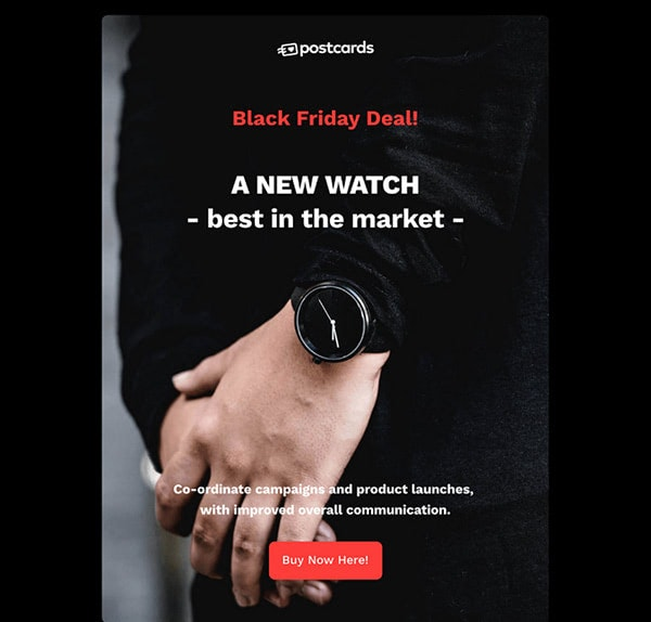 Free Black Friday HTML Email Newsletter Template