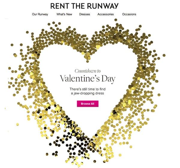 St. Valentine's Day Email Newsletter