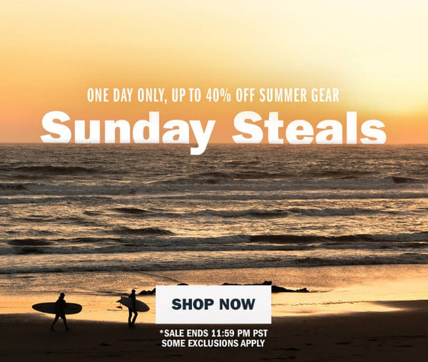 Sunday Steals from Huckberry