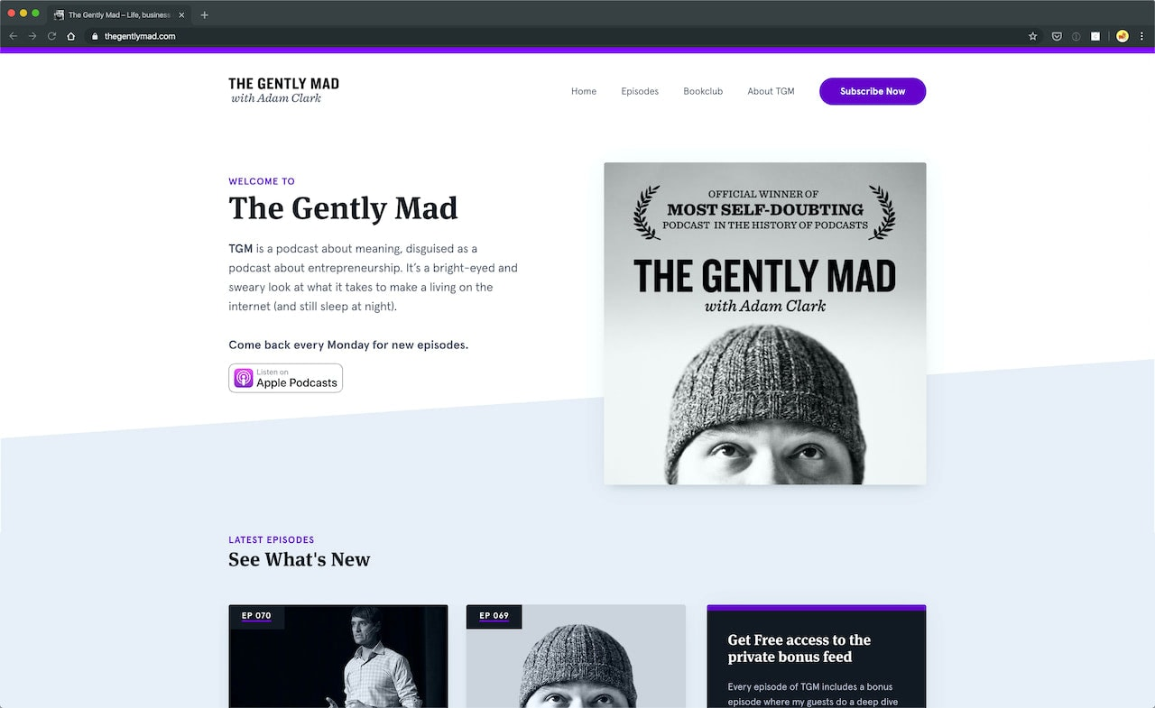 Podcasts for web designers
