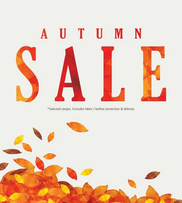 Fall Sale Email Newsletter