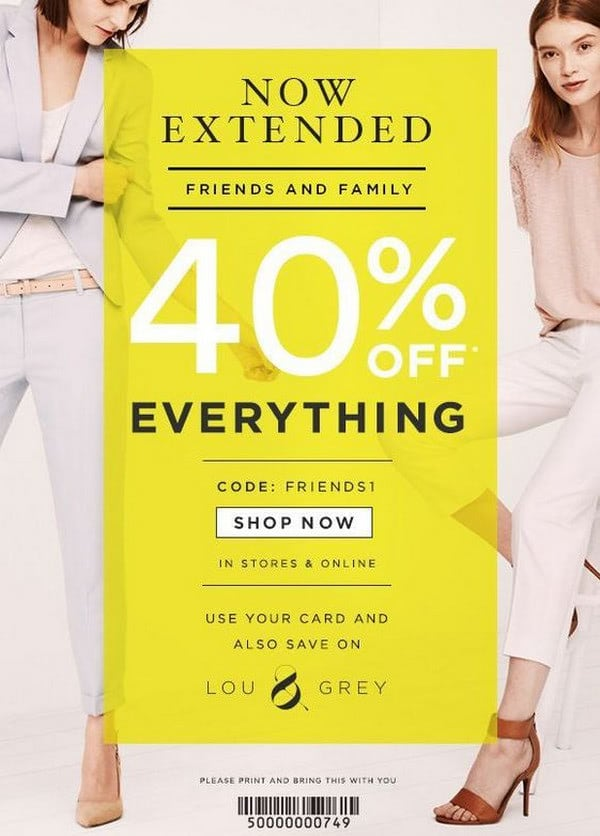 Extended Sale