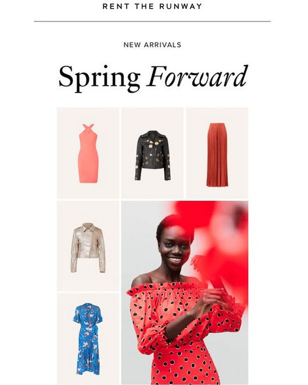 Spring Email Newsletters