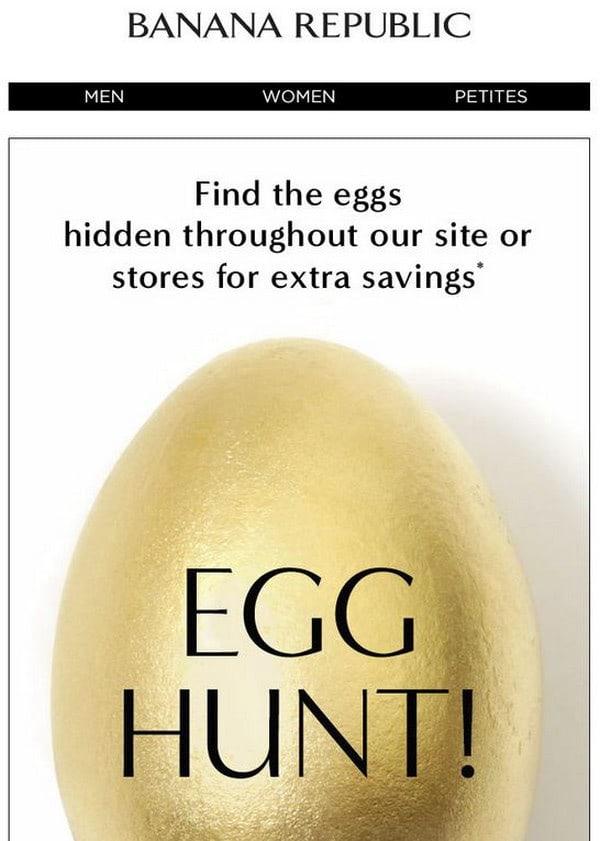 Easter Email Newsletter