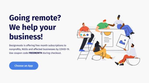 Free Month Subscription for Designmodo Apps: Postcards, Startup, Slides