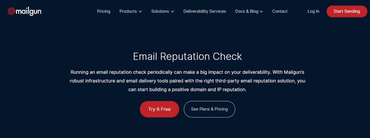 Email Reputation Check
