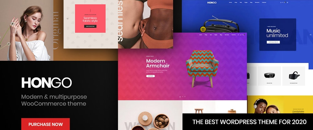 Hongo – Modern & Multipurpose WooCommerce WordPress Theme