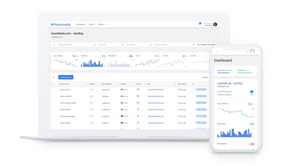RankTrackify Review: Track Your Keyword Rankings