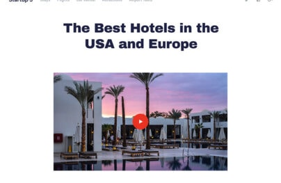 Hotel Bootstrap Theme