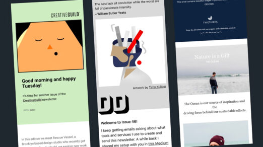 5 Email Newsletter Designs, Best Practices for Beginners