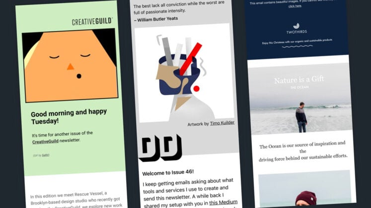 5 email newsletter design best practices for beginners