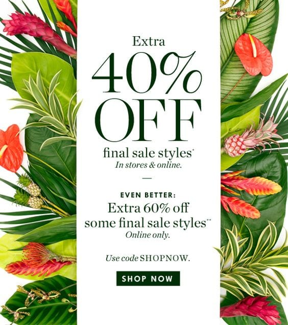 The Final Sale Email