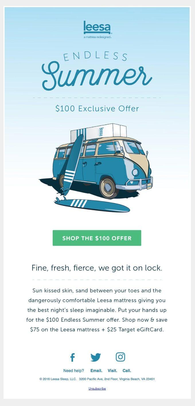 Endless Summer Offer