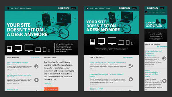 Responsive vs. Adaptive Web Design