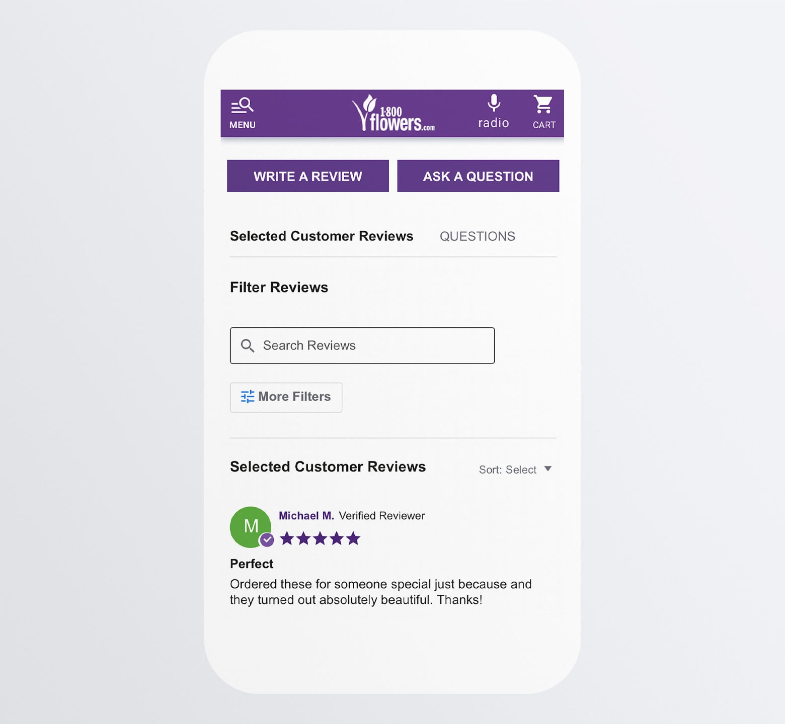 Make Product Reviews Searchable/Sortable
