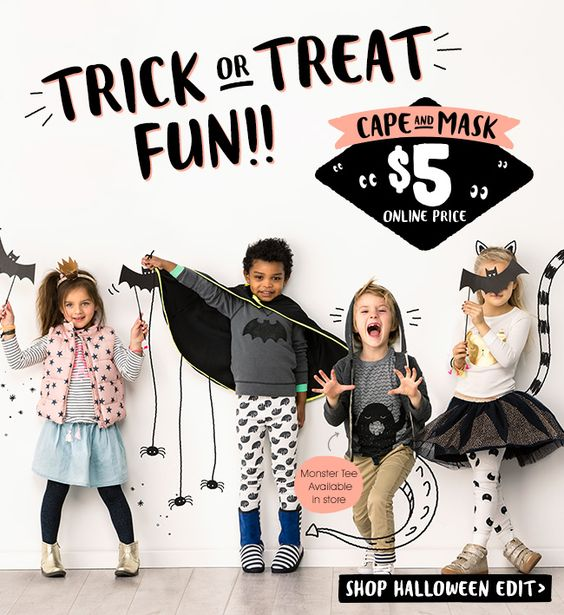 Halloween Email from Cotton Kids