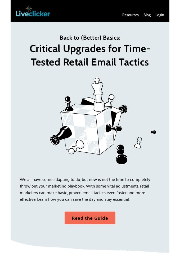 Email Design from Liveclicker