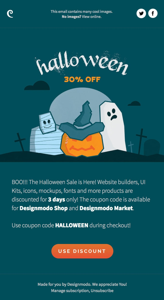 Best Time to Send Out Halloween Newsletter
