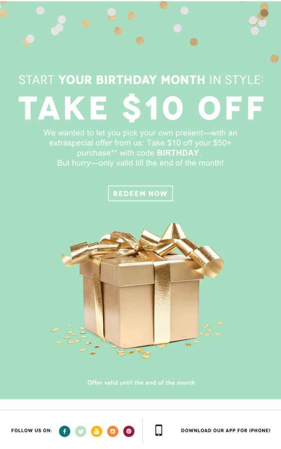 Send Gift Card Newsletters