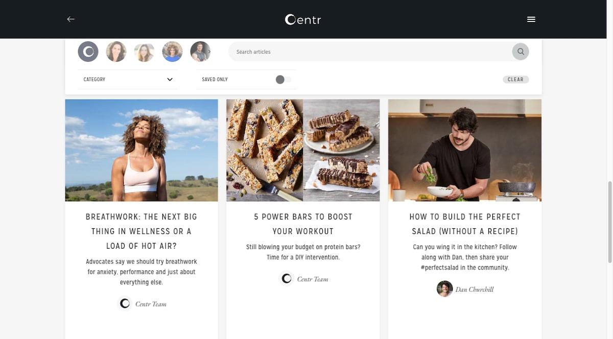Centr blog