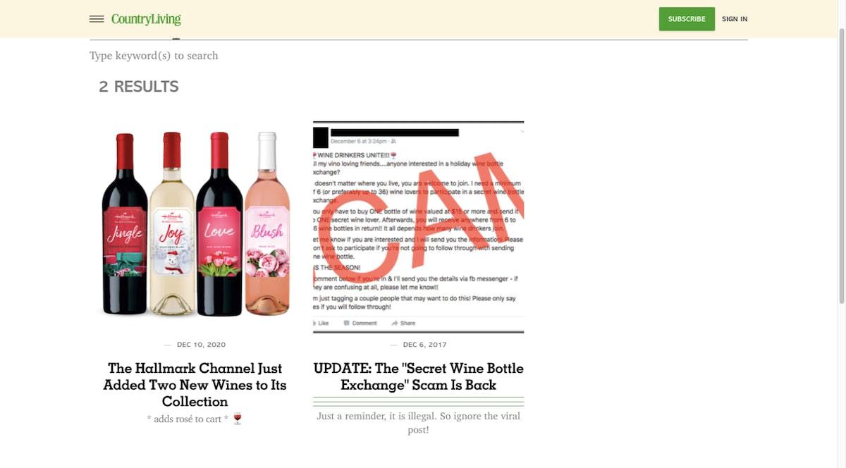 Living wine posts