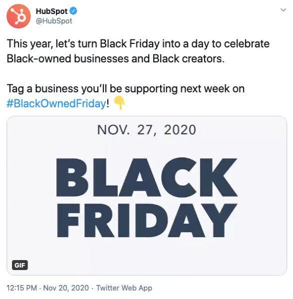 Black Lives Matter and Black Friday
