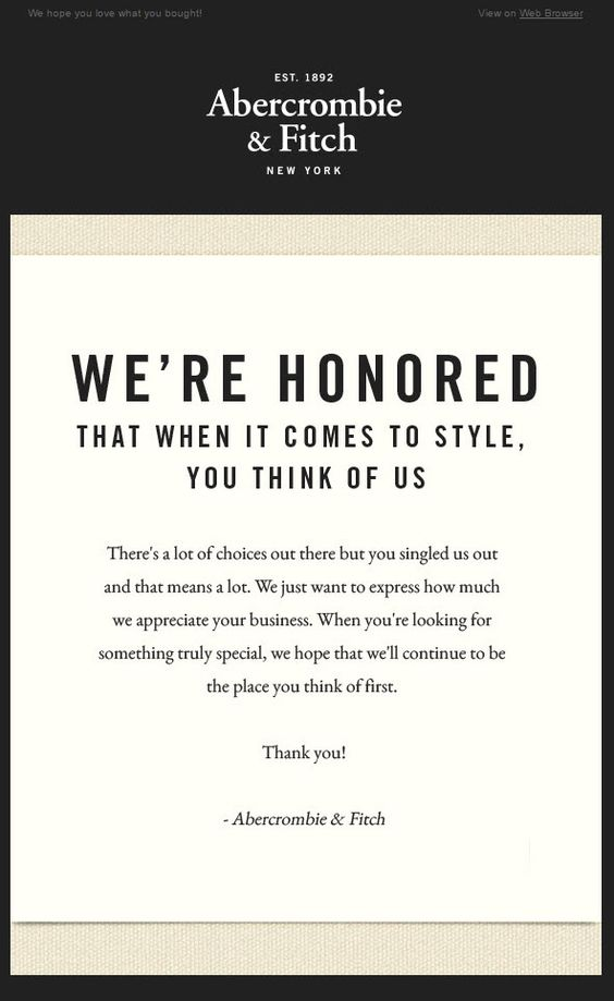 High-Converting Subject Line Examples for Customer Appreciation Emails