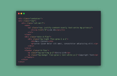 A Beginner's Guide to the Latest Bootstrap 5 Utilities