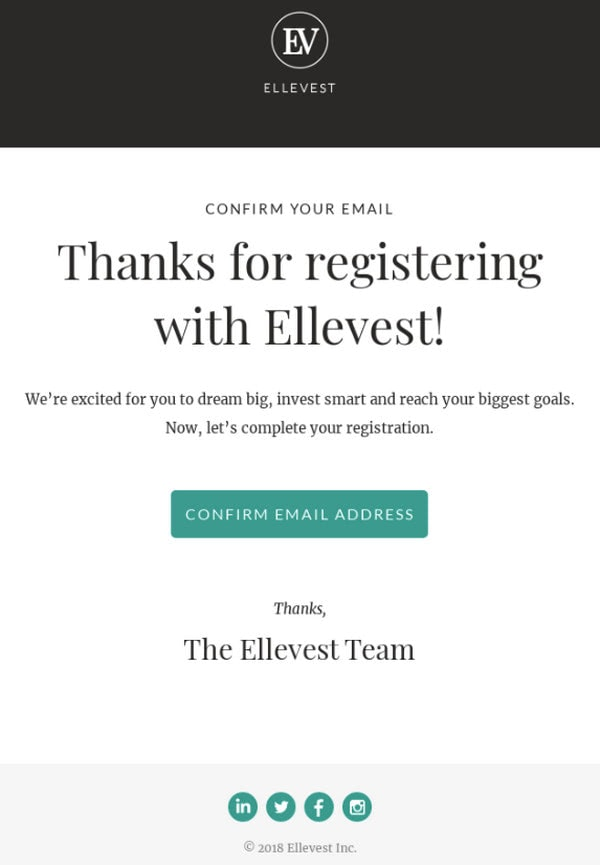 Collection of Inspiring Subscription Confirmation Email Examples