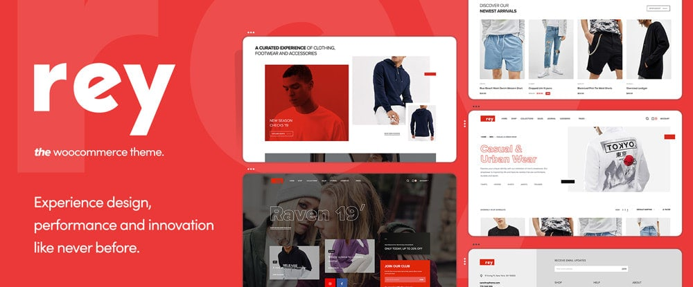 Rey theme for WooCommerce