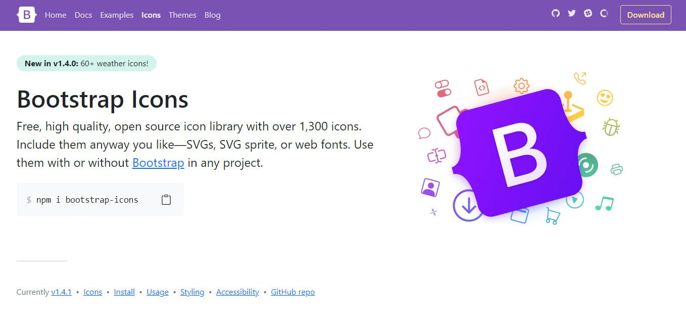 Installing Bootstrap 5 Icons